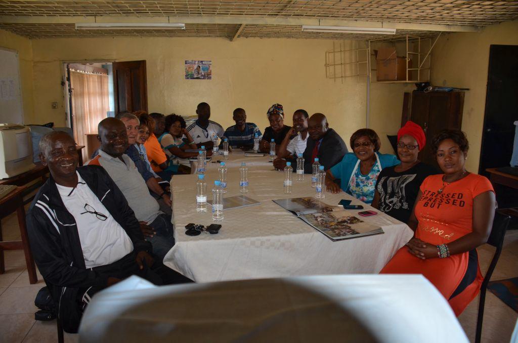 Meeting of former Namwala pupils in Lusaka