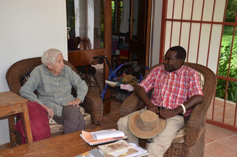 With Alex Kaande