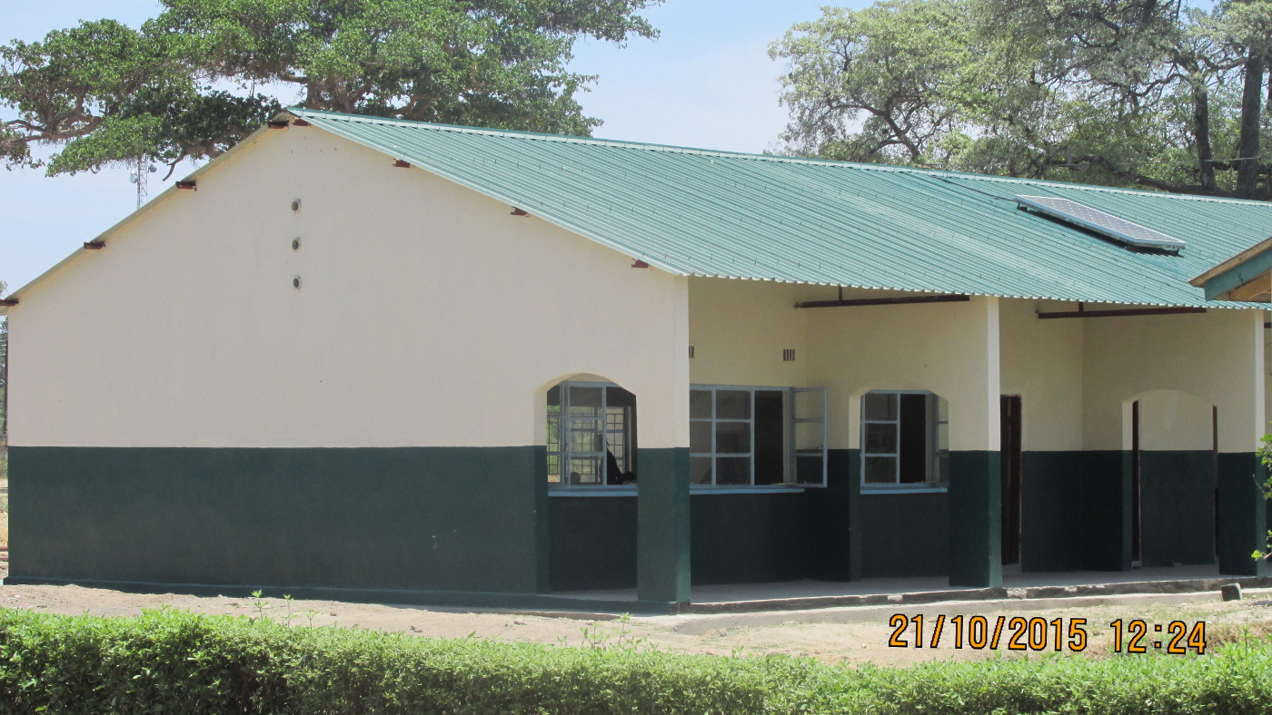 New classroom block and power backup system